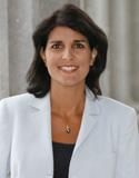 Photo of Representative Nikki Randhawa Haley